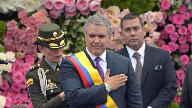 El niuevo presidente de Colombia, Iván Duque