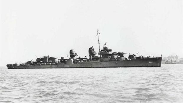 El USS Abner Read