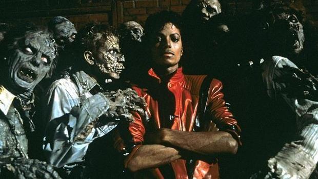 Fotograma de archivo de «Thriller», de Michael Jackson