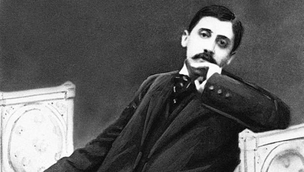 El escritor Marcel Proust
