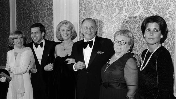 Barbara y Frank Sinatra en una foto de archivo