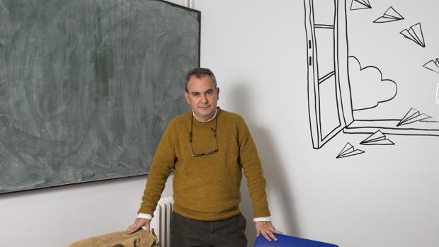 El escritor y sacerdote Pablo D'Ors, fotografiado en Madrid