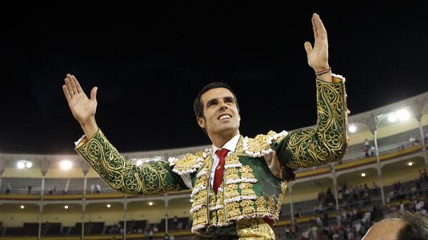 Emilio de Justo, a hombros en Las Ventas
