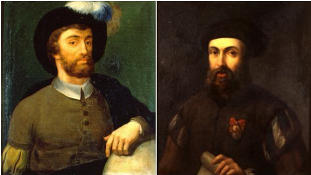 Elcano y Magallanes