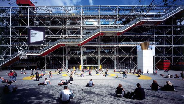 El Centro Georges Pompidou, de Renzo Piano y Richard Rogers, ocupa el cuarto puesto