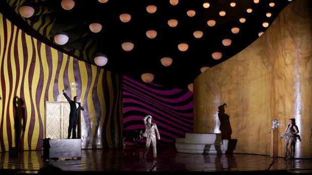 Una imagen de «La Calisto», en la producción del Teatro Real