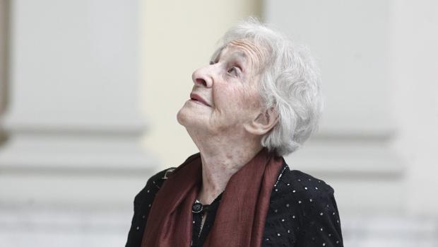 La poeta Ida Vitale