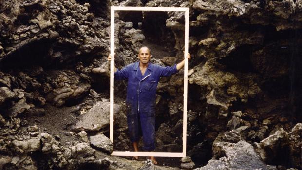 Manrique, en su isla, en una imagen de archivo