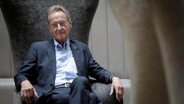Bernhard Schlink, fotografiado en Barcelona