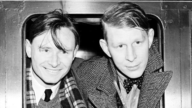 Christopher Isherwood y W. H. Auden