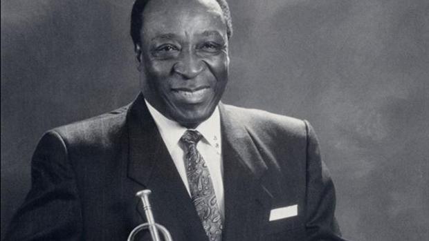 El trompetista Dave Bartholomew