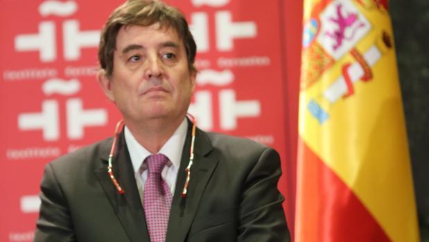 Luis García Montero, director del Instituto Cervantes