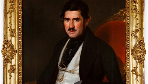 Retrato de Jacinto Galaup (1845), de Rafael Tegeo