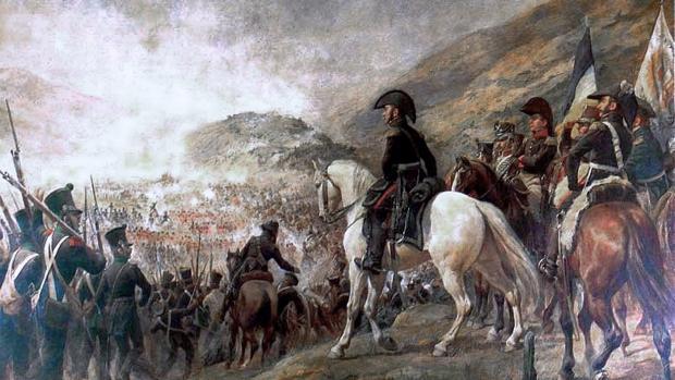 Tropas chilenas y argentinas rumbo a la Batalla de Chacabuco (12 de febrero de 1817), lideradas por el general José de San Martín.