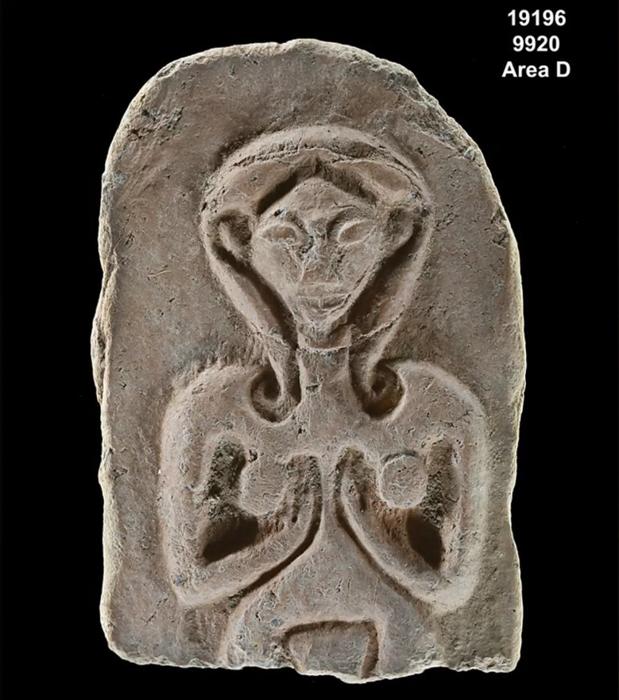 Representación de una antigua diosa de la fertilidad