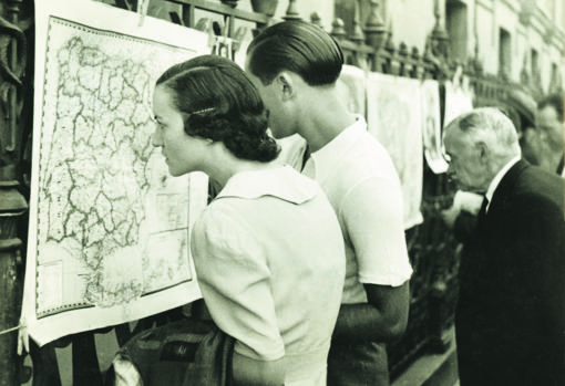Una imagen de Madrid durante la Guerra Civil
