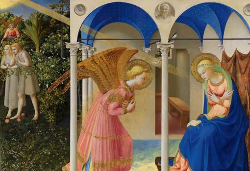«La Anunciación», de Fra Angelico