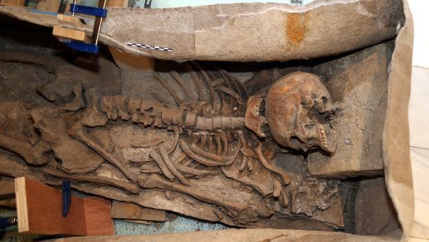 El sarcófago romano de Granada