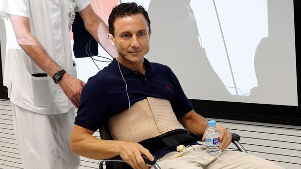 Rafaeillo, en el hospital de Navarra