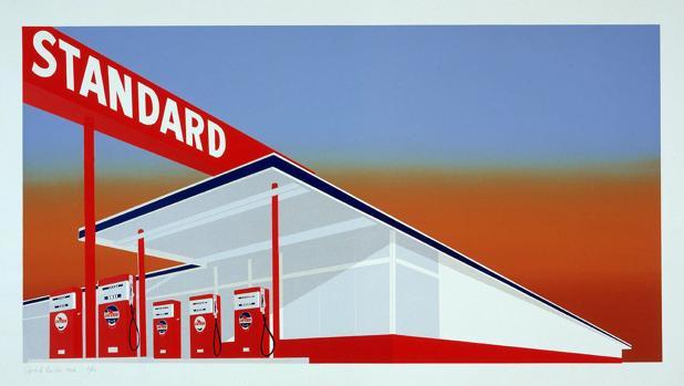 «Standard Station», de Ed Ruscha