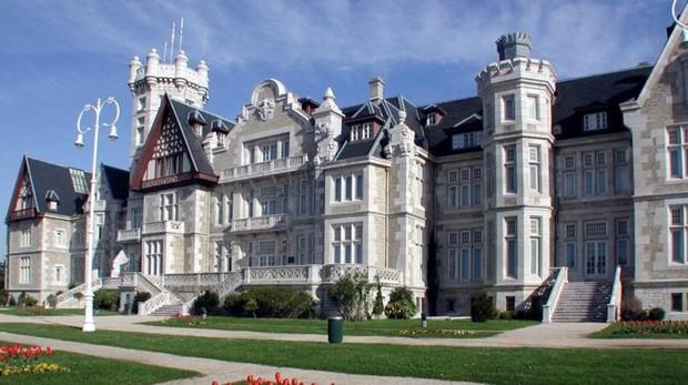 El Palacio de La Magdalena, sede principal de la Universidad Internacional Menéndez Pelayo (UIMP)