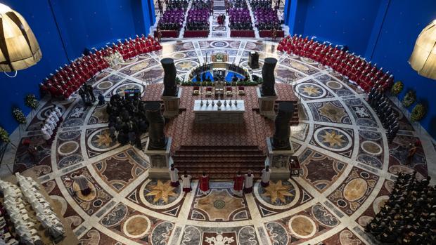 Set de «The New Pope», de Paolo Sorrentino