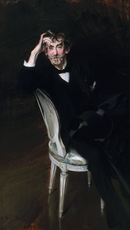 Boldini: retrato de James Abbot McNeill Whistler