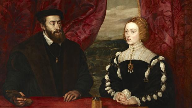 «Carlos V e Isabel de Portugal», obra de Rubens