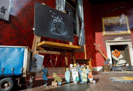 Obras de Banksy a la venta