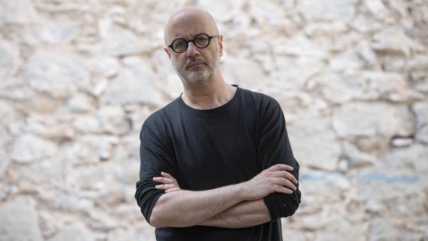 Rodrigo Fresán, fotografiado ayer en Barcelona