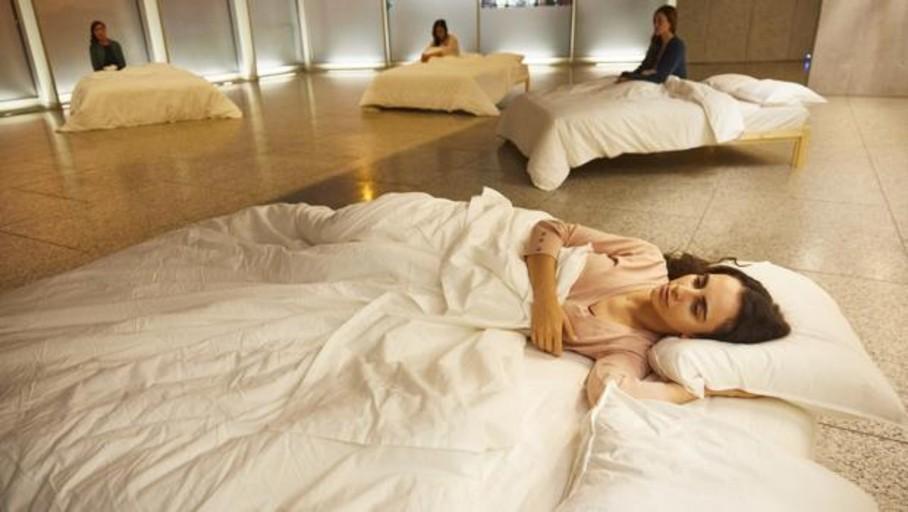 En la cama con ocho actrices