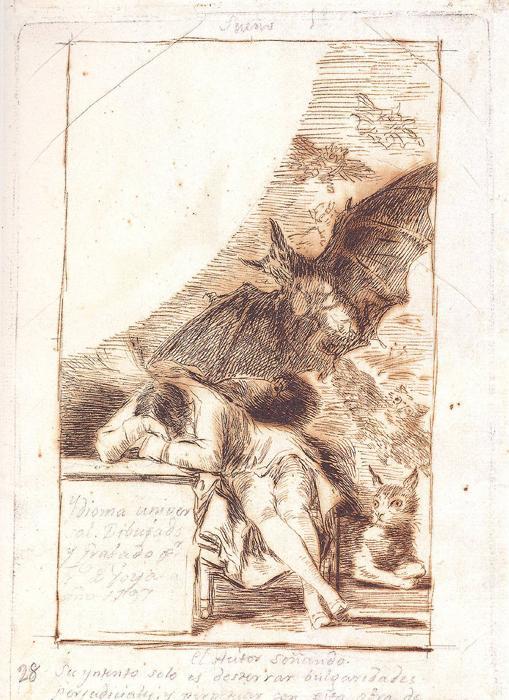 Fig.7 El autor soñando