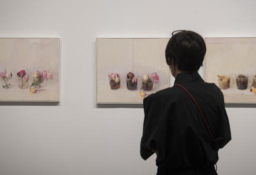 «Rosas de invierno I, II y III», tríptico de Antonio López, vendido en 315.000 euros por la galería Marlborough