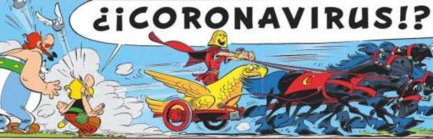 Astérix y Obélix ya lucharon contra «Coronavirus» en Italia