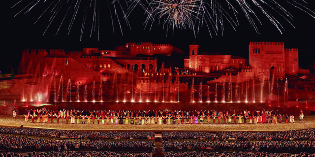 Puy du Fou prepara su reapertura: «Buscamos en la historia de España lo que une y no lo que separa»