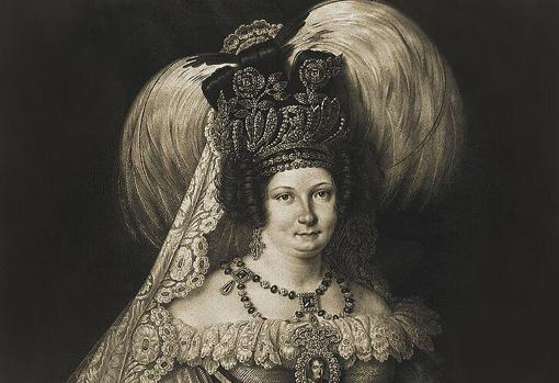La reina María Cristina