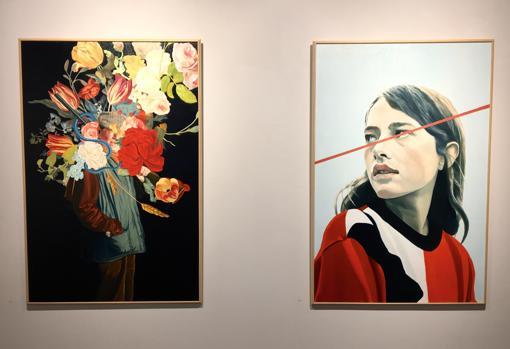 Obras de la exposición «Cazadores»