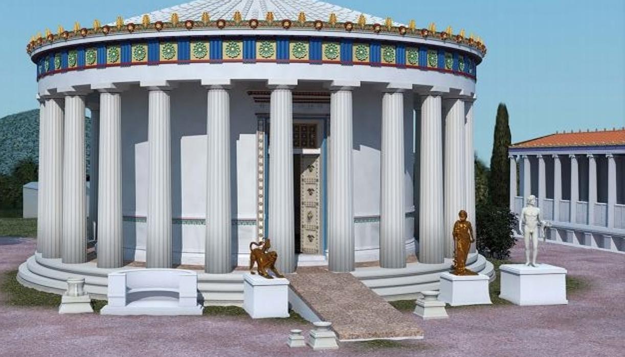 Los Templos De La Antigua Grecia Ya Tenían Rampas Adaptadas Para Facilitar El Acceso A Los Discapacitados