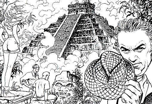 «Viaje a Tulum» (1987), de Federico Fellini y Milo Manara