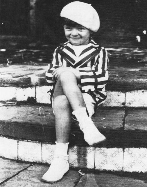 Mario Benedetti, en su más tierna infancia