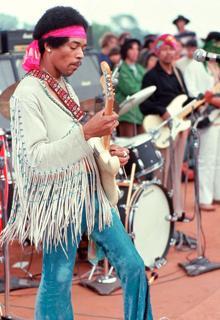 Hendrix en Woodstock