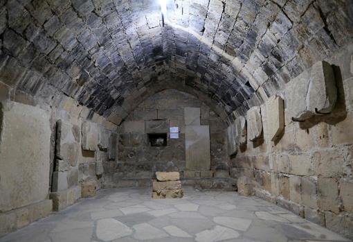 La capilla abovedada de Limassol