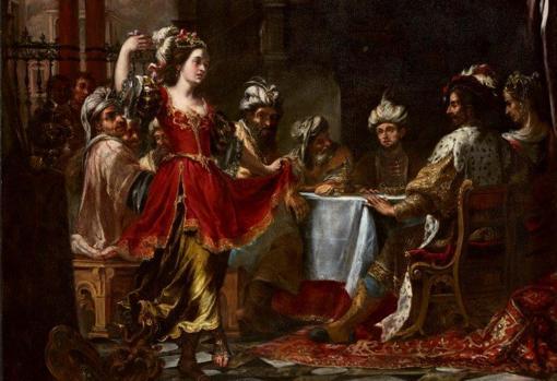 'The dance of Salome before Herod (Herod's banquet)', by Juan de Valdés Leal