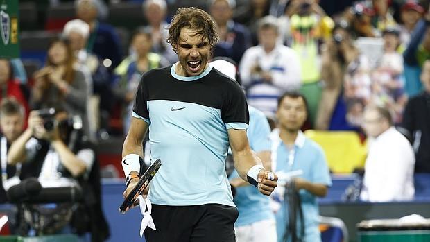 Rafa Nadal, en una imagen del torneo de Shanghái