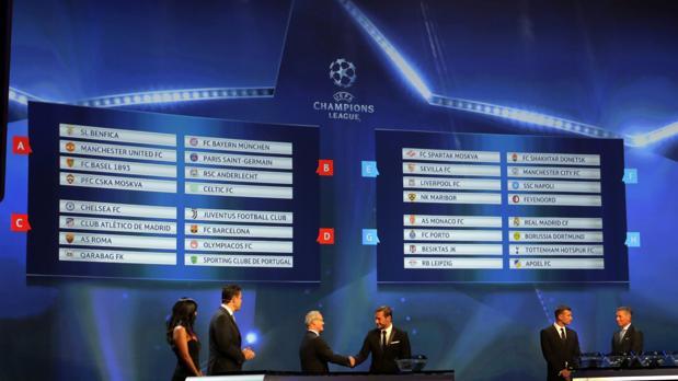 Champion Liga Calendario.Champions League 2017 18 Calendario De Los Equipos