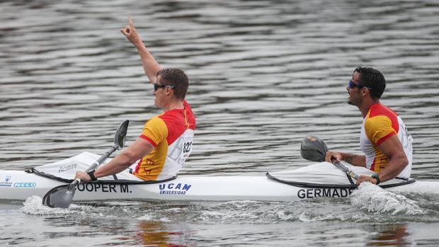 Marcus Cooper Walz y Rodrigo Germade, oro en el Mundial