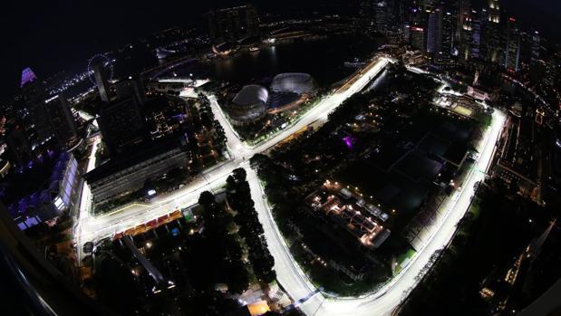 Circuito F1 Singapur : Fórmula horario y tv del gp de singapur