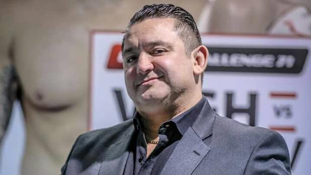 Chinto Mordillo fue luchador y ahora es entrenador, mánager y promotor de artes marciales mixtas
