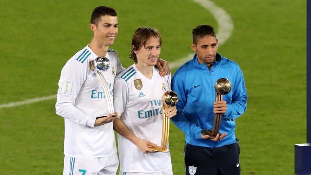 Dos madridistas en el podio de los mejores del torneo