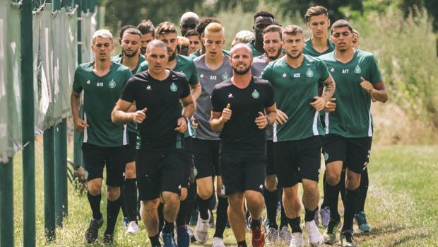 Una imagen del equipo en pretemporada
